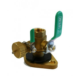FNPT Threaded Flange Ball Valve Kit