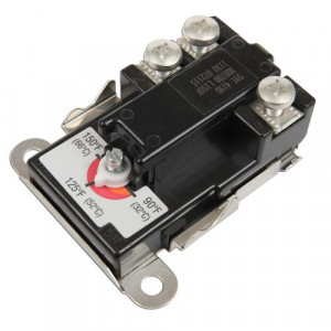 Surface Mount Thermostat, 90°-150° F, Therm-O-Disc 59T 4090