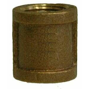"""3/4"""" Brass Coupling FPT"""