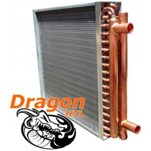"19"" x 20"" Water to Air Heat Exchanger, 150,000 BTU (Dragon Quality)"