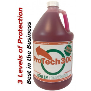 ProTech300 Outdoor Wood Boiler Water Treatment, 1 Gallon