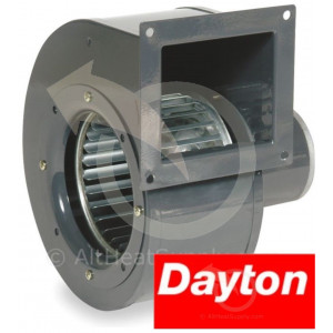 Dayton Model 1TDR3 PSC Draft Fan Blower, 115 Volt, Replaces 4C447, CFM 273