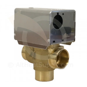 "3/4"" Sw. 3-way Zone Valve - Honeywell Hi-Pressure Fan Coil"
