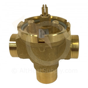 "Three-Way Fan Coil Valve, 3/4"" inch (Sweat), 7.0 Cv"