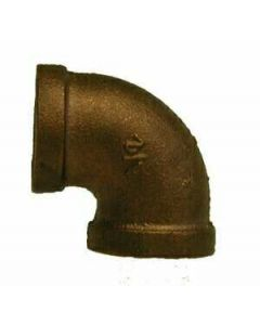 "3/4"" FPT Brass 90 Threaded Elbow"