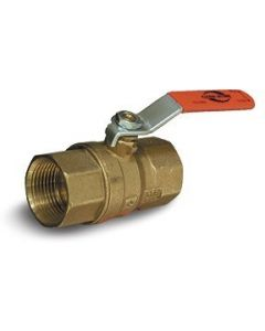 "3/4"" Brass Ball Valve FNPT Cash Acme Model 2010 - Ball Valves"