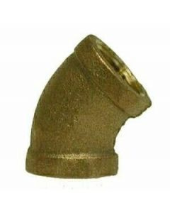"1"" Brass 45 Degree FPT - Brass Fittings"
