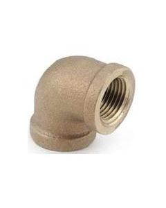 "1"" FPT Brass 90 Elbow - Brass Fittings"