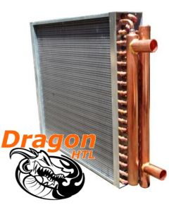 "20"" x 20"" Water to Air Heat Exchanger, 160,000 BTU (Dragon Quality)"