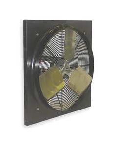 "Dayton Exhaust Fan 12"" Dia, Medium Duty Direct Drive, 912 CFM, 115 v, 16"" x 16"""