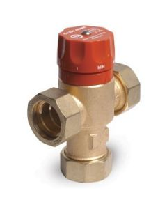 "Cash Acme Heat Guard Tempering Valve, 3/4"" Sweat, 110-HX 24176-0000 - Brass Fittings"