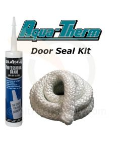 "Aqua-Therm Outdoor Wood Boiler, Door Seal Kit, With (7') 1"" Rope and Silicone."