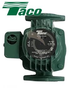 Taco 0011-F4 1/8-HP Cast Iron Cartridge Circulating Pump
