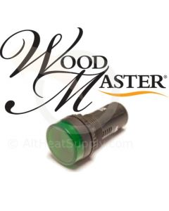 Green LED Light Bulb for WoodMaster Wood Boilers