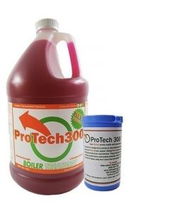 Outdoor Wood Boiler Water Treatment Rust Inhibitor- ProTech 300 & Test Kit