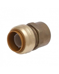 "1"" x 1"" FPT Brass SharkBite Cash Acme U094LF, SharkBite Fittings"
