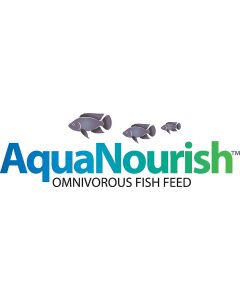 AquaNourish Omnivorous Aquaponic Fish Feed - Stage 2, 10 lbs