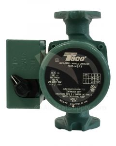 Taco 0015-MSF3 3-Speed Cast Iron Circulator with IFC