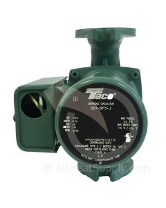 Taco 007 BF5-J Cast Iron With Bronze Cartridge Circulating Pump, Taco Circulating Pump