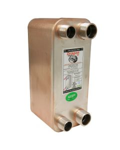 50 Brazed Plate Heat Exchanger, 100,000 BTU