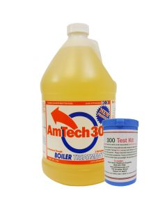 Outdoor Wood Boiler Water Treatment Rust Inhibitor-  AmTech 300 & Test Kit