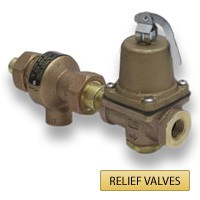 Pressure & Temp Relief Valves